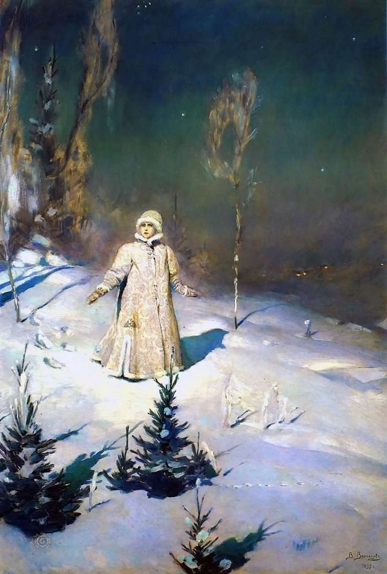 Виктор Васнецов, «Снегурочка», 1899 год, Третьяковка