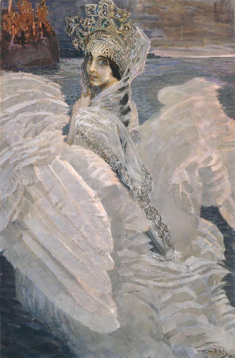 Царевна-лебедь, Михаил Врубель, 1900 год, Третьяковка