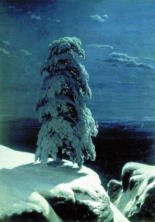 Иван Шишкин, На севере диком, 1890 год, пейзаж, Киевская картинная галерея, Киев