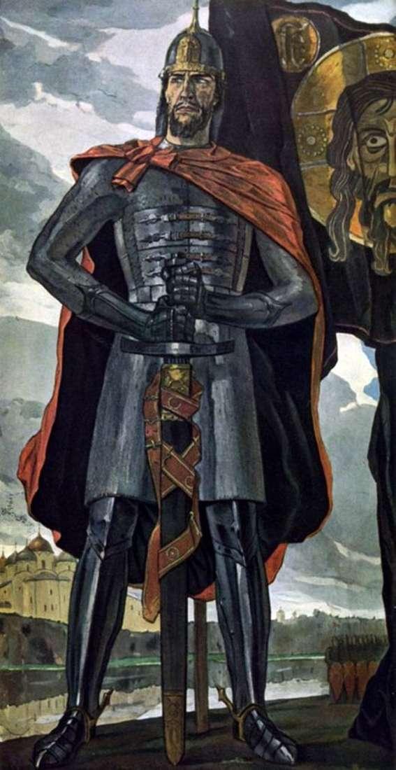 Павел Корин, 1942-1943 годы, картина «Александр Невский». Фото: muzei-mira.com
