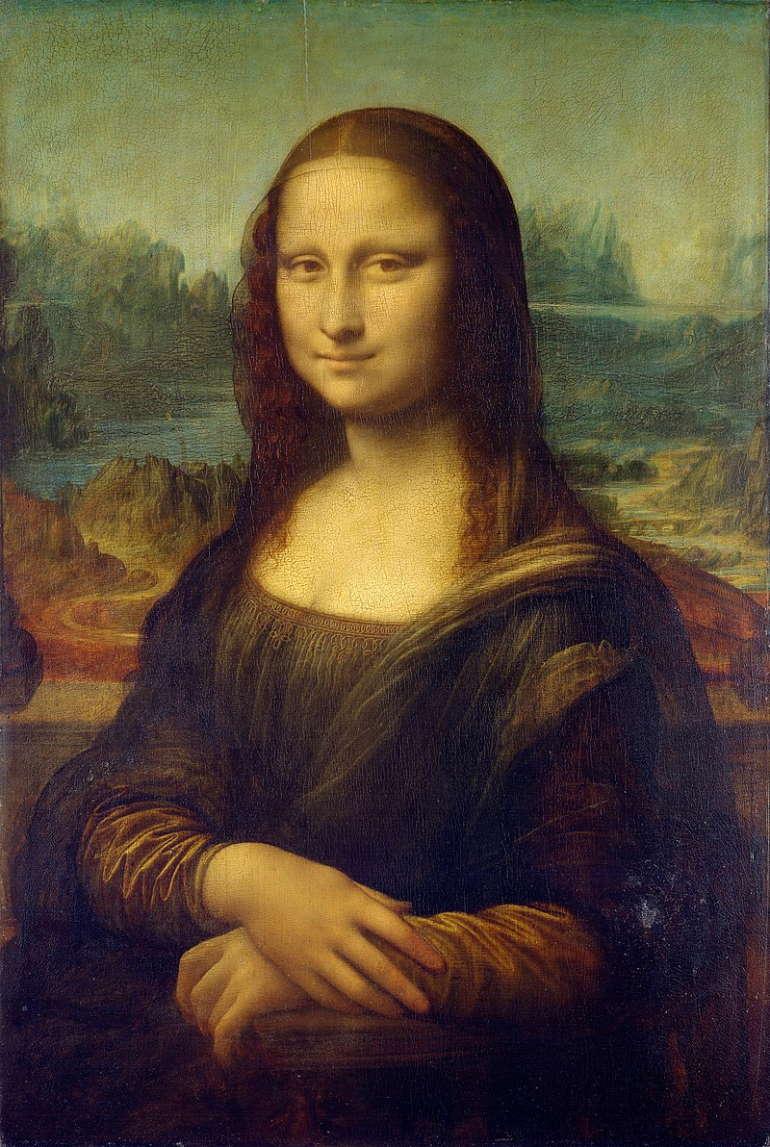 Мона Лиза, Леонардо да Винчи, 1503-1519 гг, Лурв,Париж