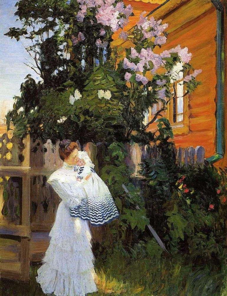 Борис Кусодиев, «Сирень», Государственный Русский музей, Санкт-Петербург, 1906 год