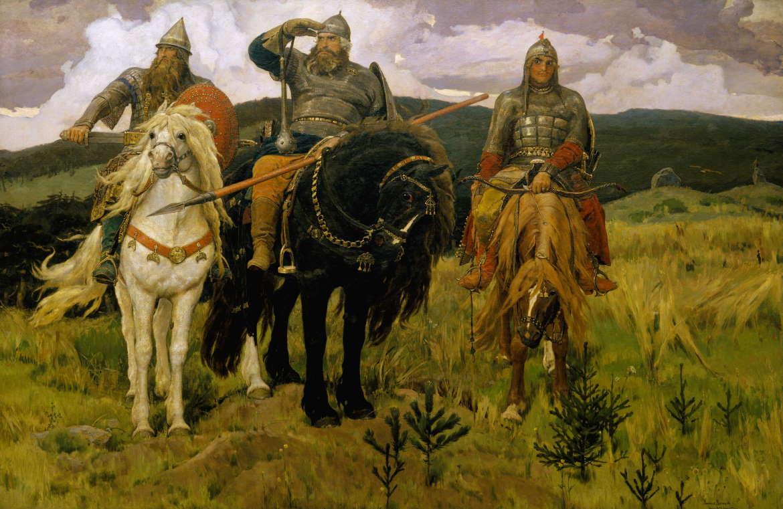 Богатыри, Виктор Васнецов, 1871-1898, Третьяковка