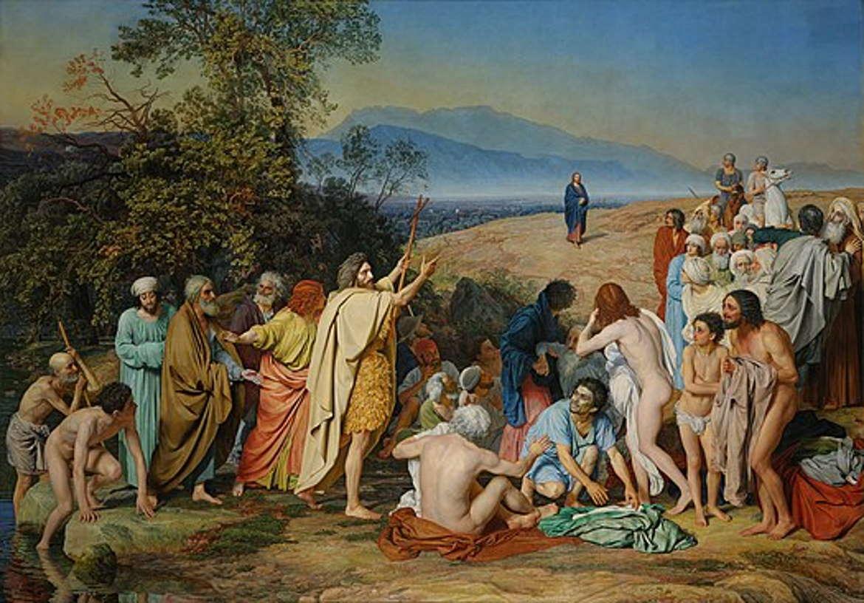 Александр Иванов, «Явление Христа народу», 1837-1857 год, Третьяковка