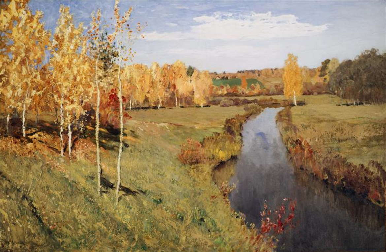 Исаак Левитан, Золотая осень, 1895 год, Третьякова