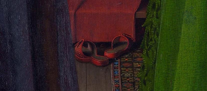 Портрет четы Арнольфини, Ян ван Эйк, 1434 год, Лондонская национальная галерея