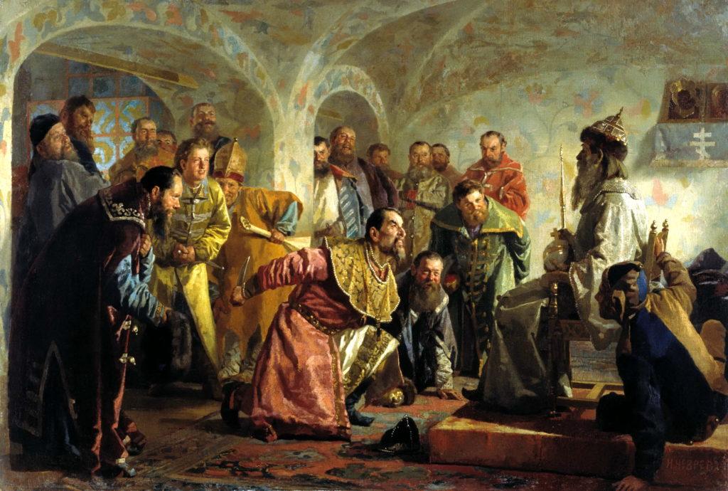 """Н.Неврев, """"Опричники"""", 1888 год, фото: upload.wikimedia.org"""