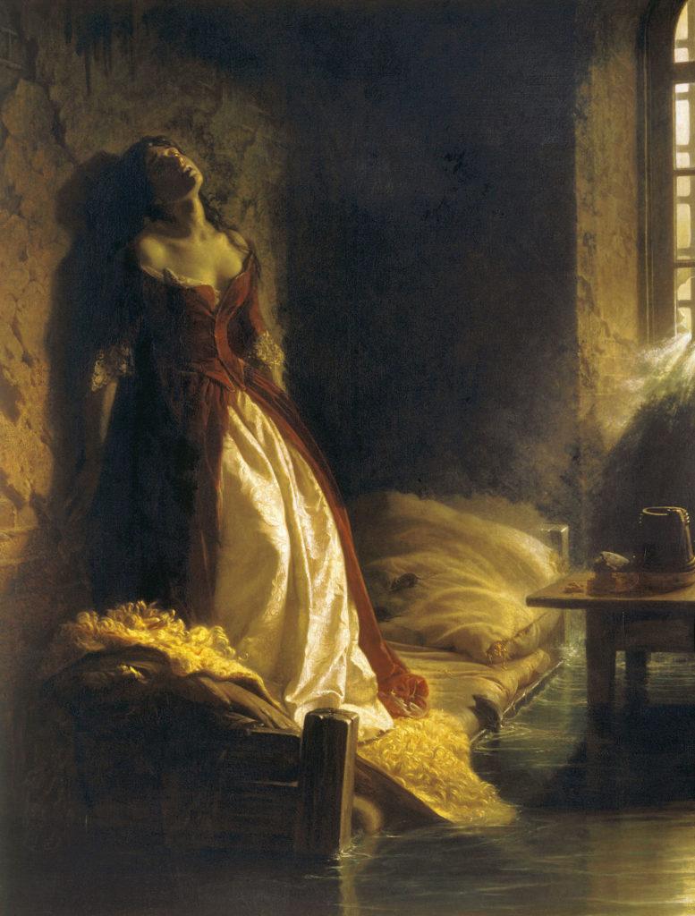"""Константин Флавицкий, 1864 год, картина """"Княжна Тараканова"""""""