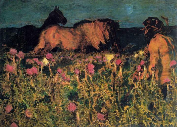"М.А.Врубель, картина ""К ночи"", 1900 год, фото: art-holster.ru"