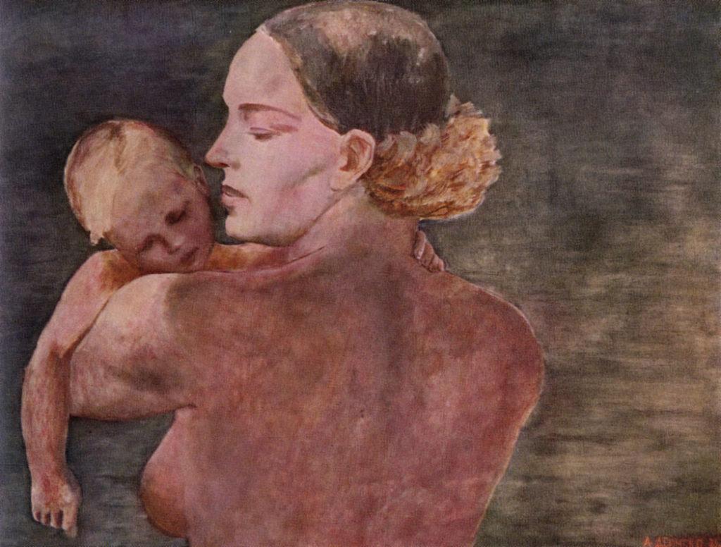 "А.Дейнека, картина ""Мать"", 1932 год, фото: culture.ru"