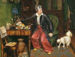 Описание картины Павла Федотова «Завтрак аристократа»