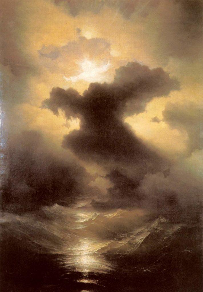 """И.К.Айвазовский, """"Хаос. Сотворение мира"""", 1841 год, фото: ayvazovskiy.su"""
