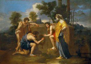 Описание картины Никола Пуссена «Аркадские пастухи»
