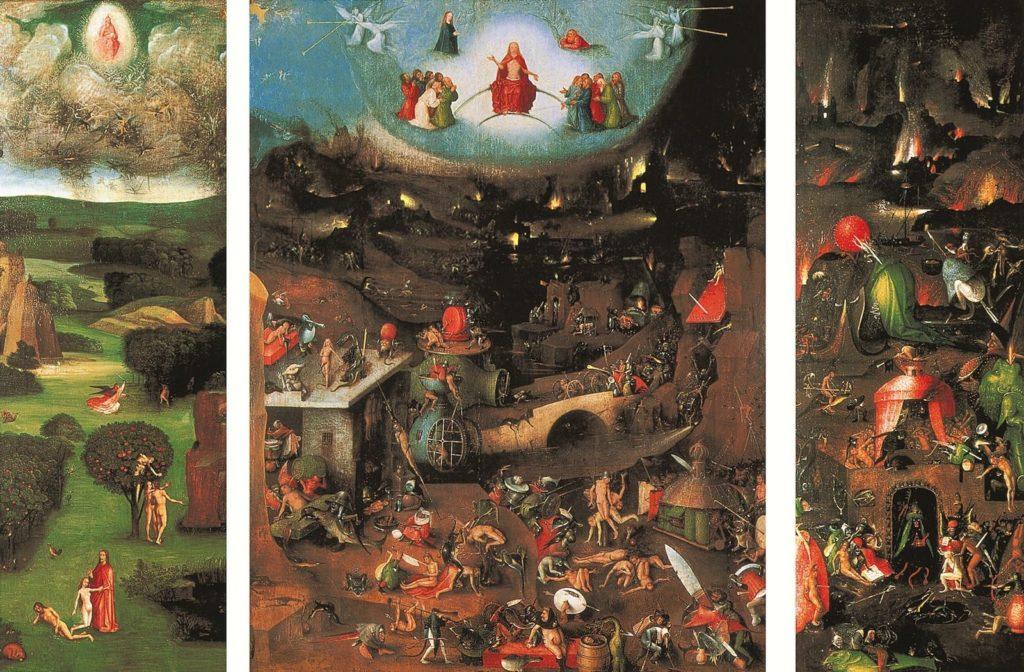 """И.Босх, """"Страшный суд"""", 1504-1505 гг., фото: i.pinimg.com"""