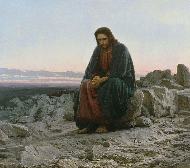 """Описание картины Ивана Крамского """"Христос в пустыне"""""""