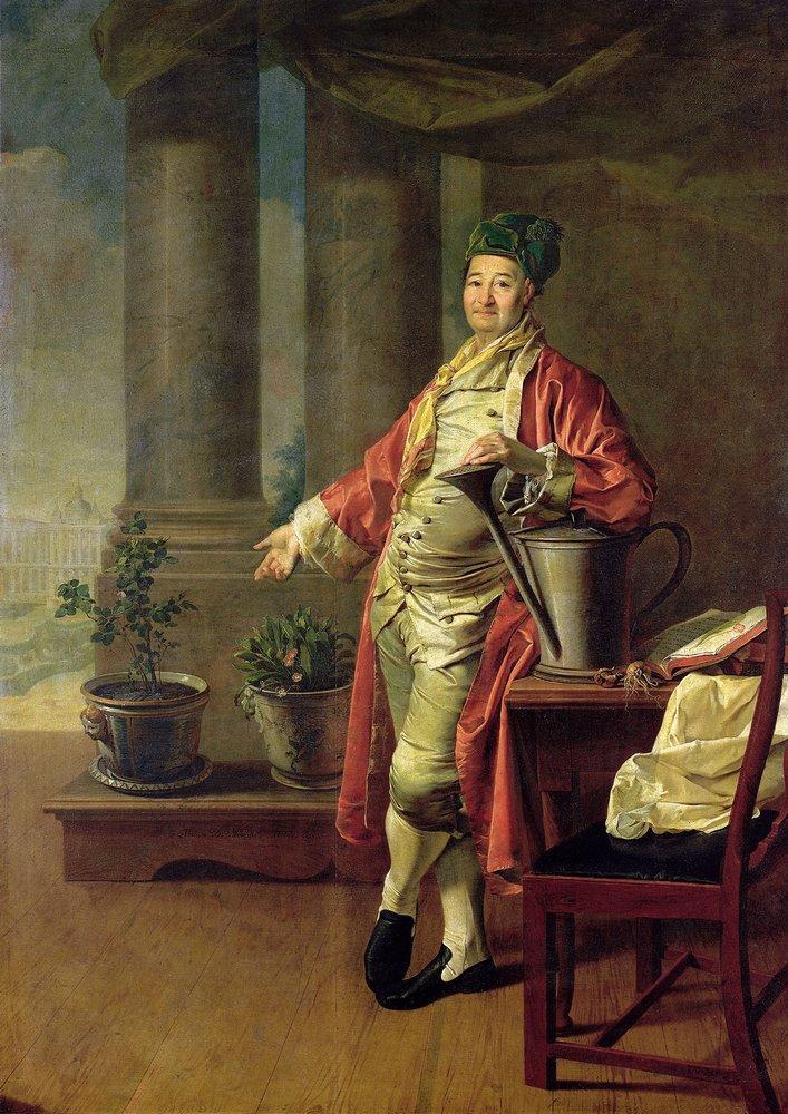 Дмитрий Левицкий, 1773 год, картина «Портрет П.А. Демидова».