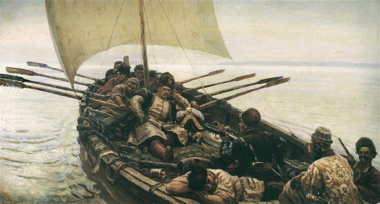 Василий Суриков, 1906 год, картина «Степан Разин».