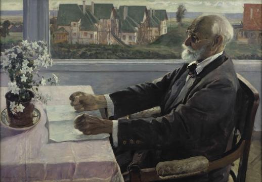 Михаил Нестеров, 1935 год, картина «Портрет Павлова»