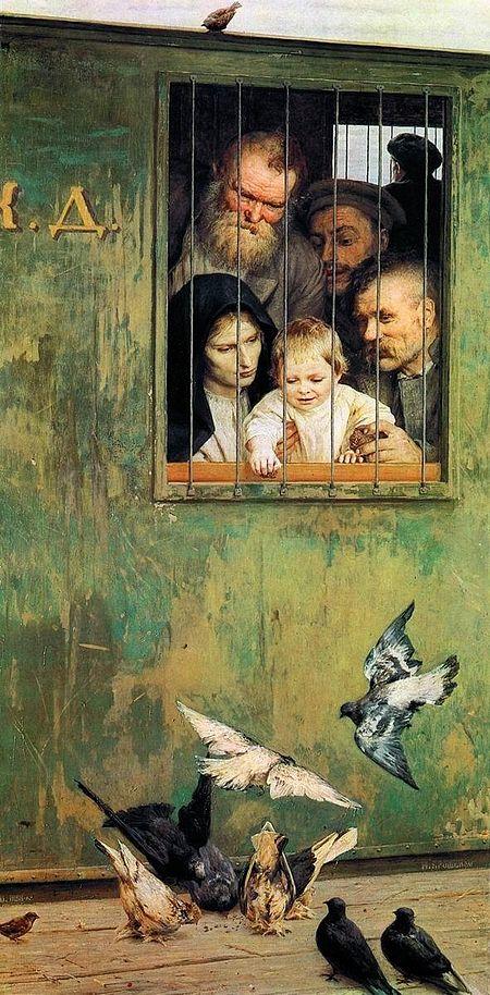 Николай Ярошенко, 1888 год, картина «Всюду жизнь».