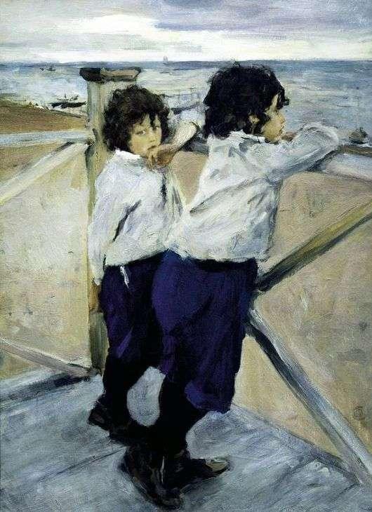 Дети. Валентин Серов. 1899 год. Русский музей.