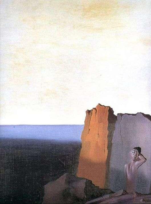 Сальвадор Дали, 1931 год, картина «Одиночество».