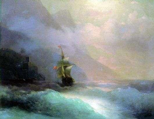 Иван Айвазовский, 1870 год, картина «Морской пейзаж».