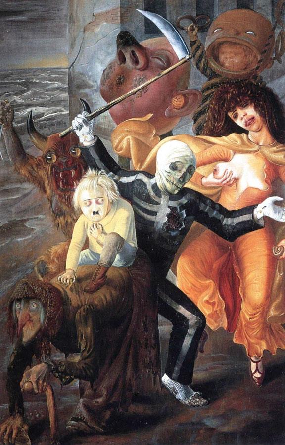Отто Дикс, 1932 год, картина «Семь смертных грехов».