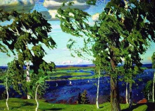 Аркадий Рылов, 1904 год, картина «Зеленый шум».