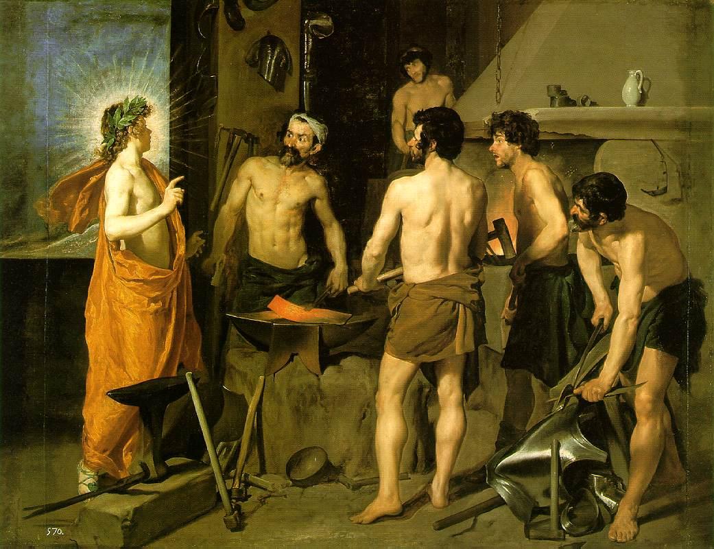 Диего Веласкес, 1629-1630 годы, картина «Кузница Вулкана».