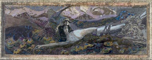 Демон поверженный. 1901 год.