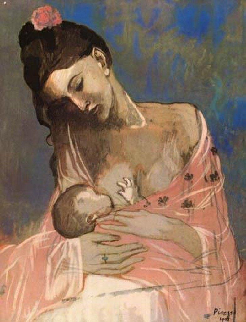 """Описание картин """"Мать и дитя"""" Пабло Пикассо"""