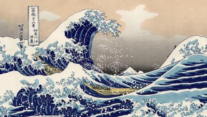"""Описание картины """"Большая волна в Канагаве"""" Кацусика Хокусаи"""