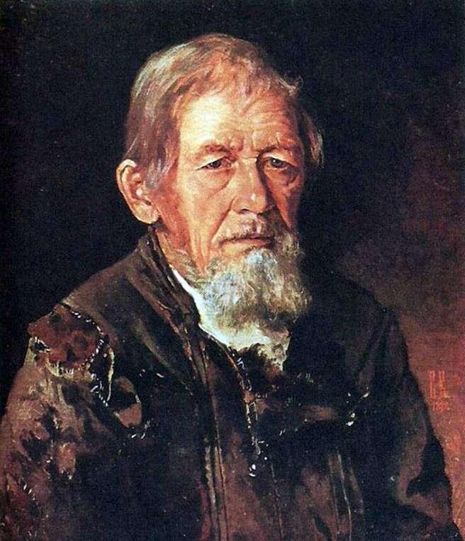 """Описание картины """"Портрет сказителя былин"""" Ивана Крамского"""