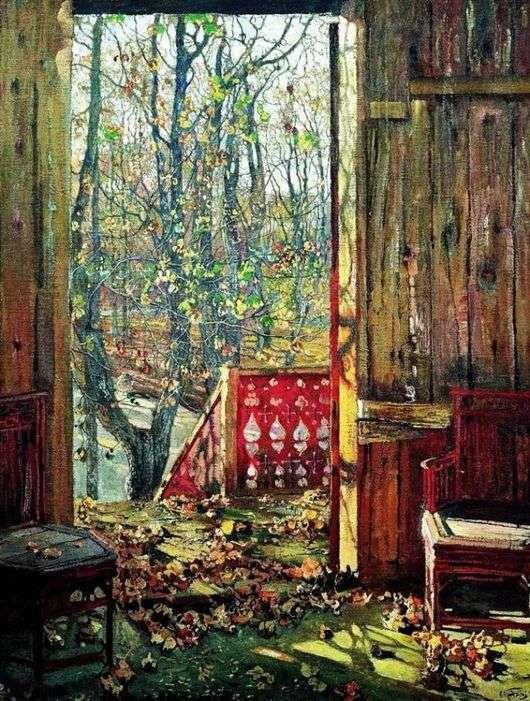 """Описание картины """"Опавшие листья"""" Исаака Бродского"""