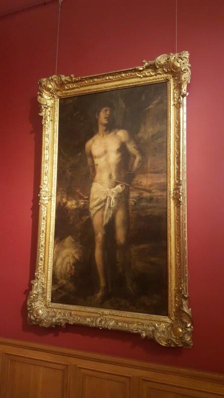 Тициан «Святой Себастьян» в Эрмитаже