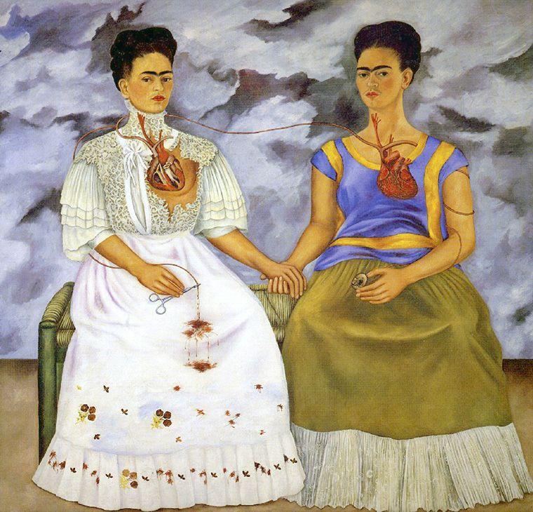 Фрида Кало, 1939 год, картина «Две Фриды»