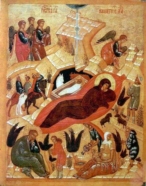 Андрей Рублев, 1405 год, картина «Рождество Христово»