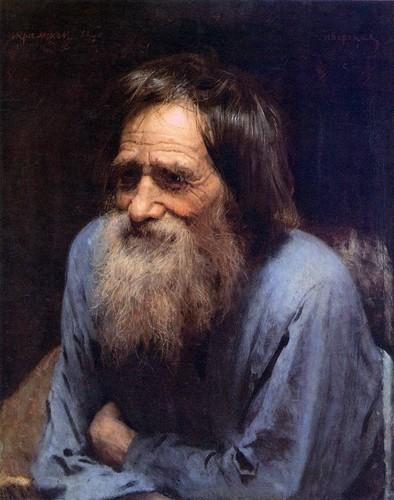 Иван Крамской, 1882 год, картина «Мина Моисеев».