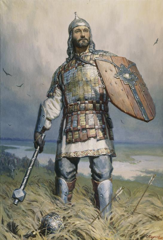 Сергей Кириллов, 2005 год, картина «Дмитрий Донской».