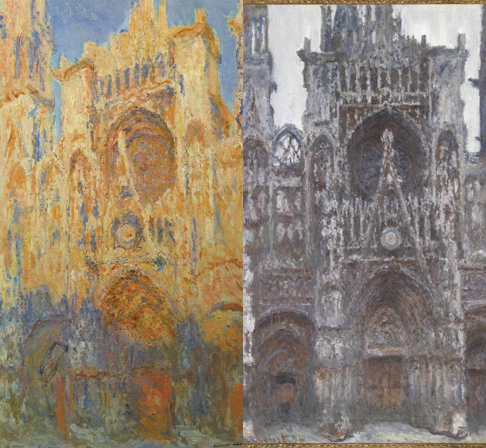 "Клод Моне, пример 2 из 30 картин серии ""Руанский собор"", 1892-1894 гг., фото: ru.m.wikipedia.org"