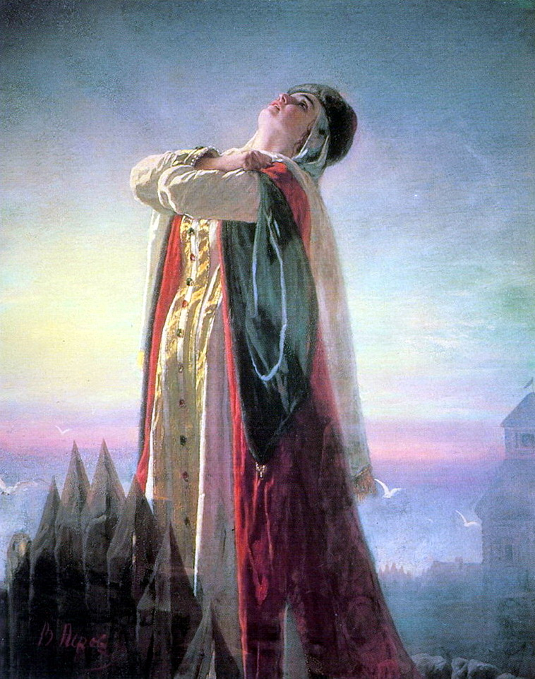 """В.Перов, картина """"Плач Ярославны"""", 1881 год, фото: muzei-mira.com"""
