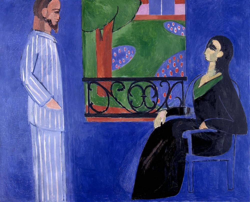 """А.Матисс, картина """"Разговор"""", 1908-1912 гг., фото: muzei-mira.com"""
