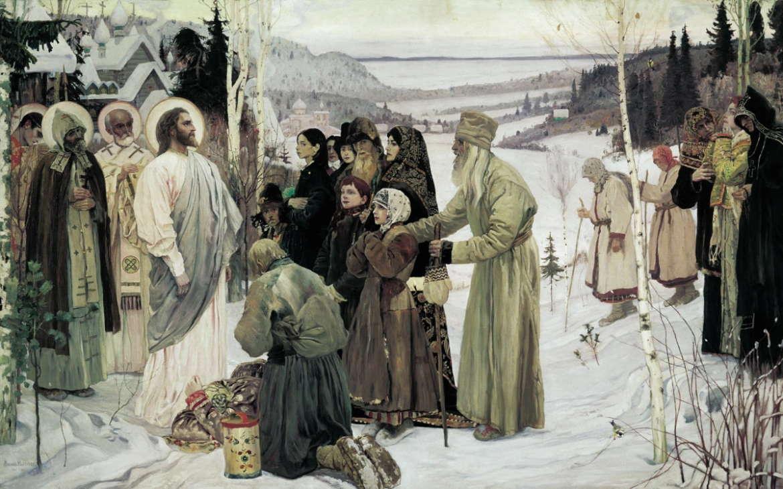 Святая Русь, Михаил Нестеров, 1905 год, Русский музей