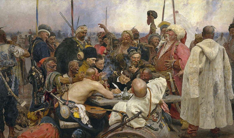 Запорожцы. Илья Репин, 1880-1891 годы, Музей Санкт-Петербург