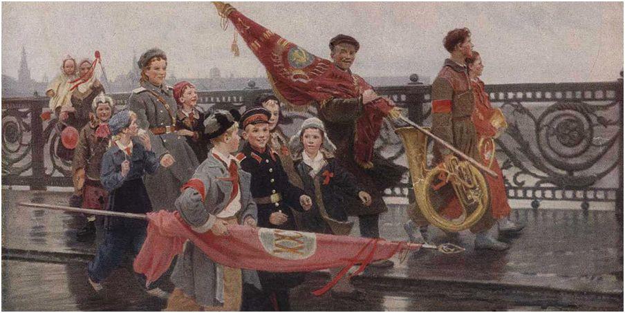 """Описание картины """"После демонстрации"""" Дмитрия Мочальского"""