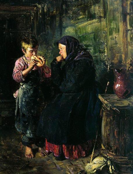 Владимир Маковский, 1883 год, картина «Свидание»