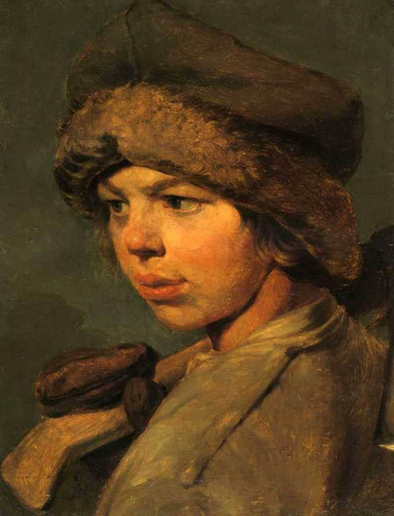 Алексей Венецианов. «Захарка». 1825 год, Третьяковка.