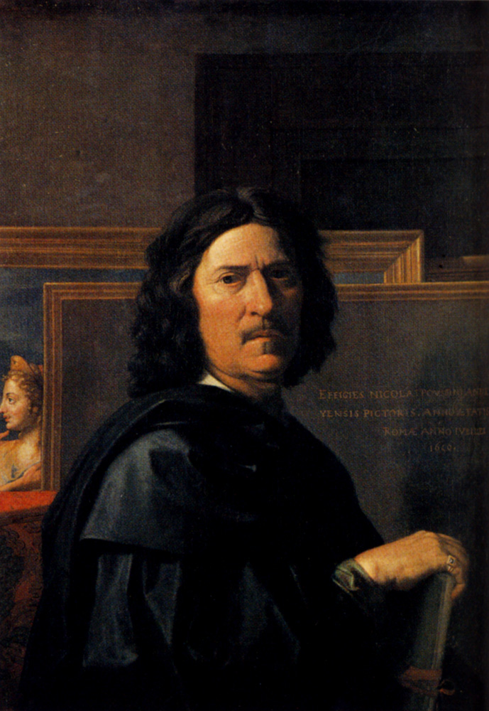 "Н.Пуссен, ""Автопортрет"", 1650 год"