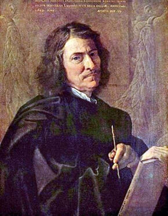 "Н.Пуссен, ""Автопортрет"", 1649 год, Фото: opisanie-kartin.com"