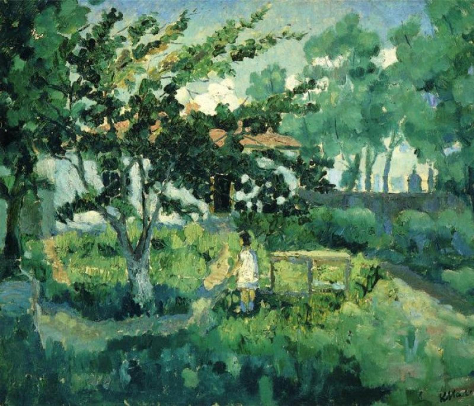 Казимир Малевич, 1929 год, картина «Летний пейзаж».
